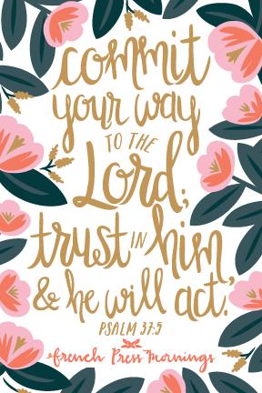 Psalms 37.5